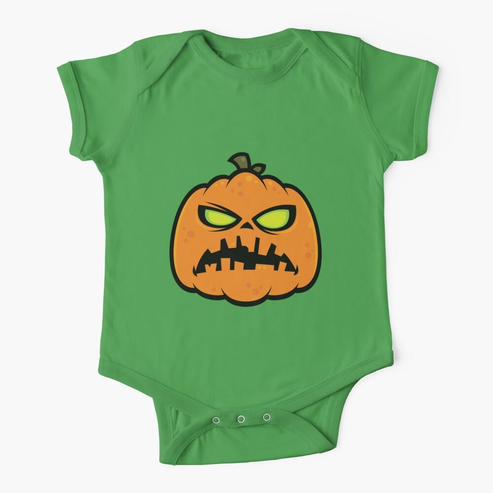 Pumpkin Zombie Baby One-Piece