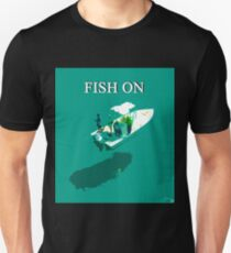 Fish On with text T-Shirt