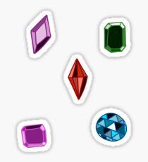 Precious Gems Sticker
