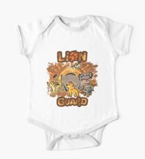 Lion Guard - Cave Painting One Piece - Short Sleeve