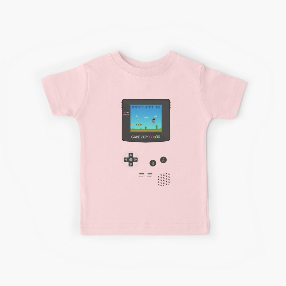 Nintendo Game Boy Super Mario Girly Kinder T-Shirt