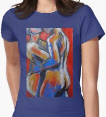 Lovers - Hot Summer Desire Womens Fitted T-Shirt