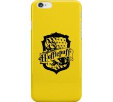 Hufflepuff house crest <3 iPhone Case/Skin