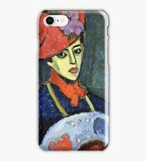 Alexei Jawlensky - Schokko With Red Hat  iPhone Case/Skin