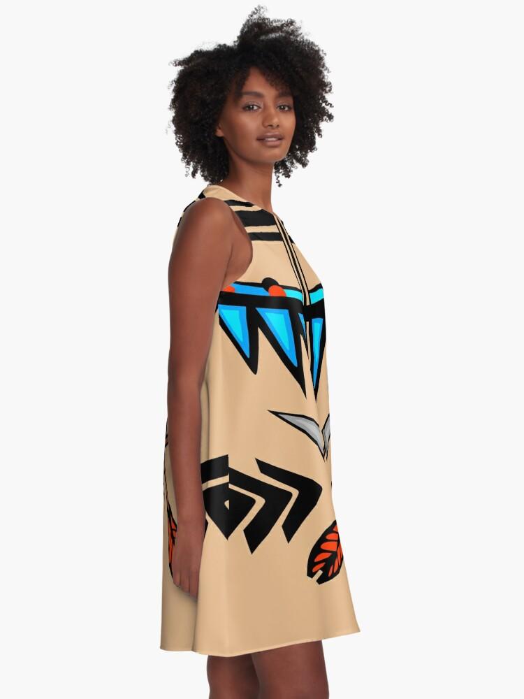 Alternate view of Native A-Line Dress