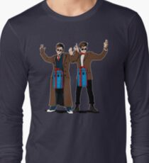 Doc In A Box: Bigger On The Inside Long Sleeve T-Shirt