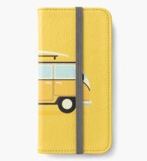 Yellow Kombi iPhone Wallet