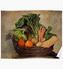 Vegetable Basket Poster