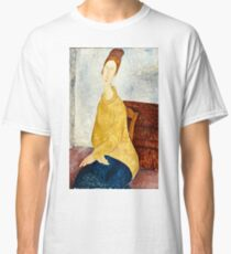 Amedeo Modigliani - Jeanne Hebuterne With Yellow Sweater (Le Sweater Jaune)  Classic T-Shirt