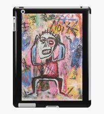 Untitled (Noise) Neo-Expressionism iPad Case/Skin
