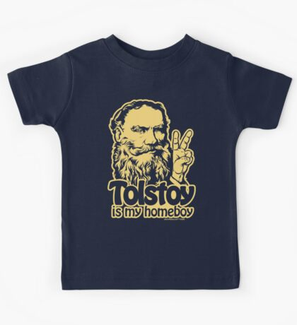 Tolstoy Is My Homeboy Kids Clothes