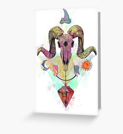 Rogue Illusion Greeting Card