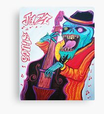 Jazz and Blues Canvas Print