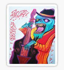 Jazz and Blues Sticker