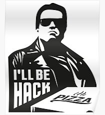Terminator i'll be hack Poster