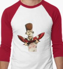 Clone High - J.F.K No Fatties Men's Baseball ¾ T-Shirt