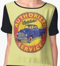 Studebaker Trucks Authorized service Women's Chiffon Top