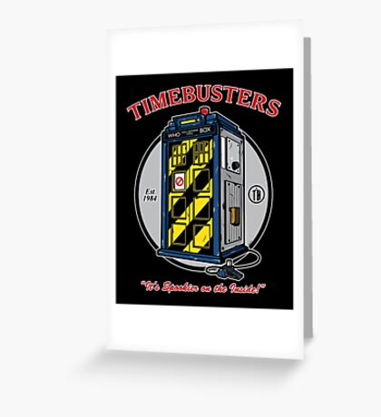 Timebusters Greeting Card