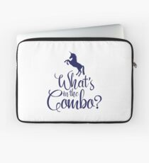 What's in the combo? Laptop Sleeve