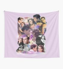 Splendor in the Grass collage Wall Tapestry
