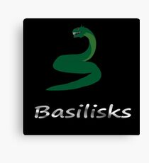 Basilisks Team Canvas Print
