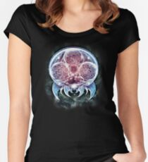 The Epic Metroid Organism  Women's Fitted Scoop T-Shirt