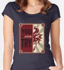 Zeit, die Drachen zu töten Tailliertes Rundhals-Shirt