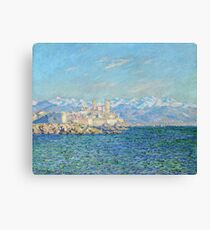 Claude Monet - Antibes Afternoon Effect Canvas Print