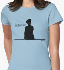 When I grow up, I want to be the Dowager Countess Womens Fitted T-Shirt