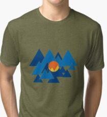 Mountain Geo Tri-blend T-Shirt