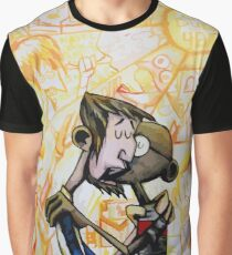 Abe and Gandhi Kiss Clone High Graphic T-Shirt