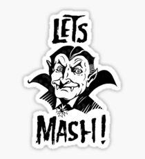 Let's Mash, Dracula Sticker