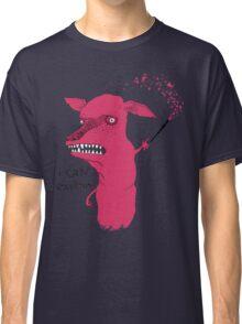 Bad Explanation Art Dog Classic T-Shirt