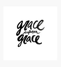 Grace upon Grace Photographic Print