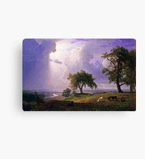 Albert Bierstadt - California Spring (1875)  Canvas Print