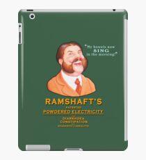 Ramshaft's Powdered Electricity iPad Case/Skin