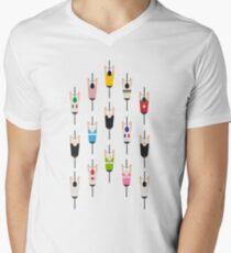 Bicycle squad Men's V-Neck T-Shirt