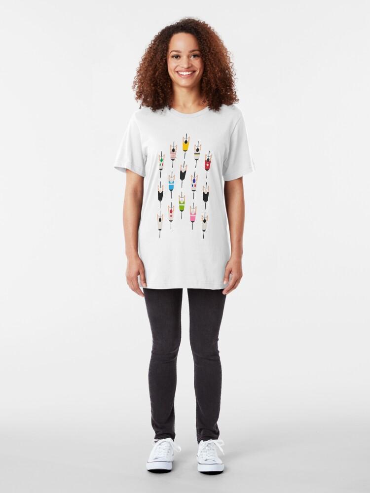 Alternative Ansicht von Fahrradgruppe Slim Fit T-Shirt