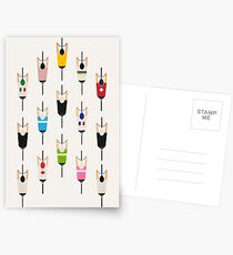 Bicycle squad Postcards