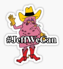 #JeffWeCan - Jeff the Diseased Lung Sticker
