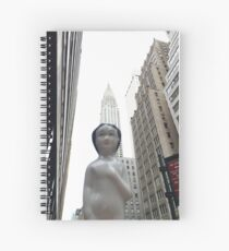 Ubi In NYC  Spiral Notebook