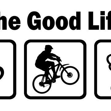 Das gute Leben Mountainbiken von BeyondEvolved