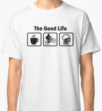 The Good Life Mountain Biking Classic T-Shirt