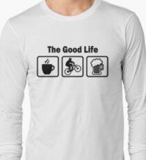 The Good Life Mountain Biking Long Sleeve T-Shirt