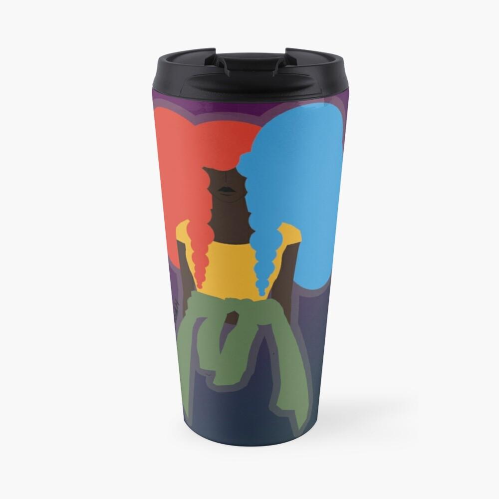 Negative vs Positive Travel Mug