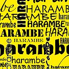 Harambe shirt (for the gorilla who died) by flashman
