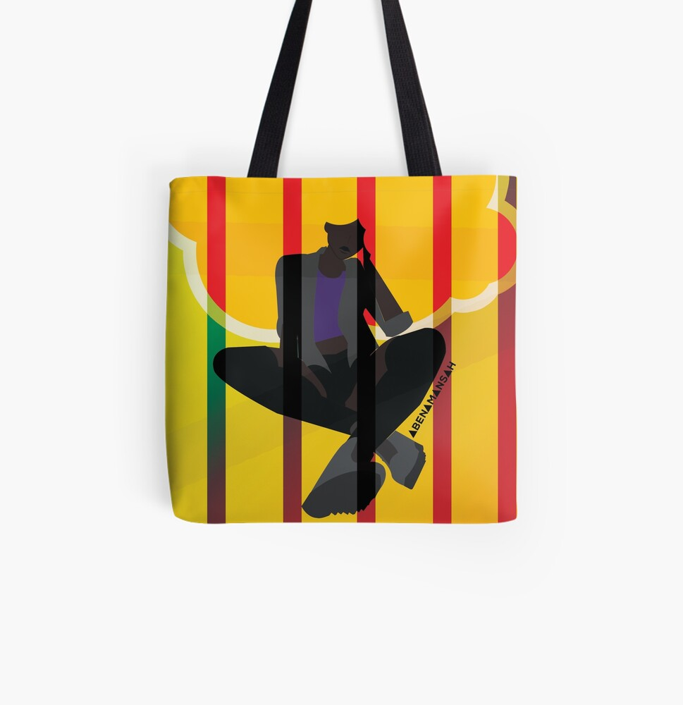 Cage All Over Print Tote Bag
