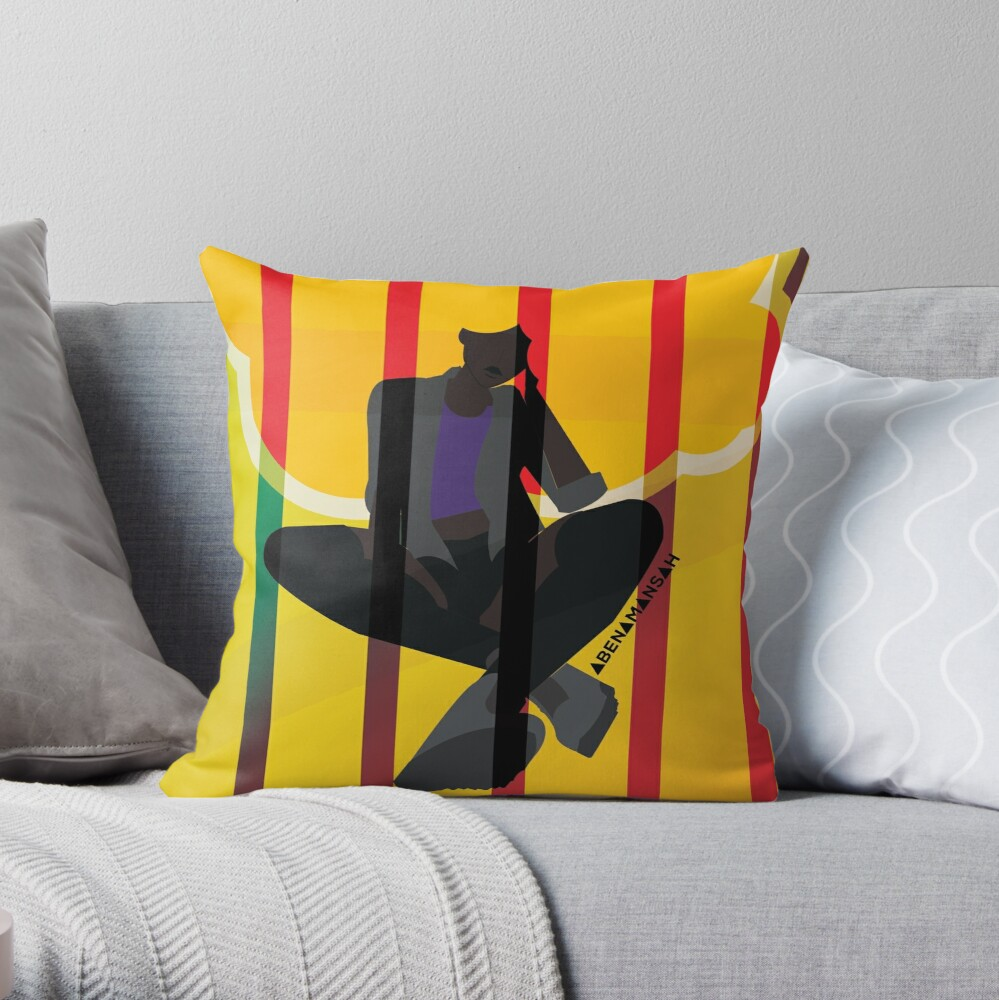 Cage Throw Pillow
