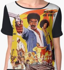 Black Dynamite 1 Women's Chiffon Top