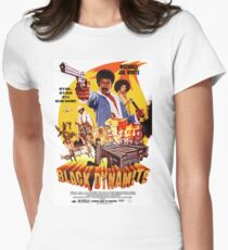 Black Dynamite 1 Womens Fitted T-Shirt